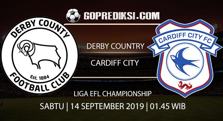 PREDIKSI BOLA - Pada tanggal 14 September 2019 nanti akan ada pertandingan antara DERBY COUNTRY Vs CARDIFF CITY Yang Di Gelar di Stadion Pride Park