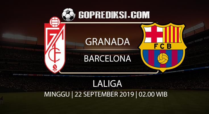 PREDIKSI BOLA - Pada tanggal 22 September 2019 nanti akan ada pertandingan antara GRANADA Vs BARCELONA Yang Di Gelar di Stadion Los Carmenes