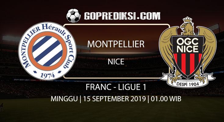 PREDIKSI BOLA - Pada tanggal 15 September 2019 nanti akan ada pertandingan antara MONTPELLIER Vs NICE Yang Di Gelar di Stadion Mosson