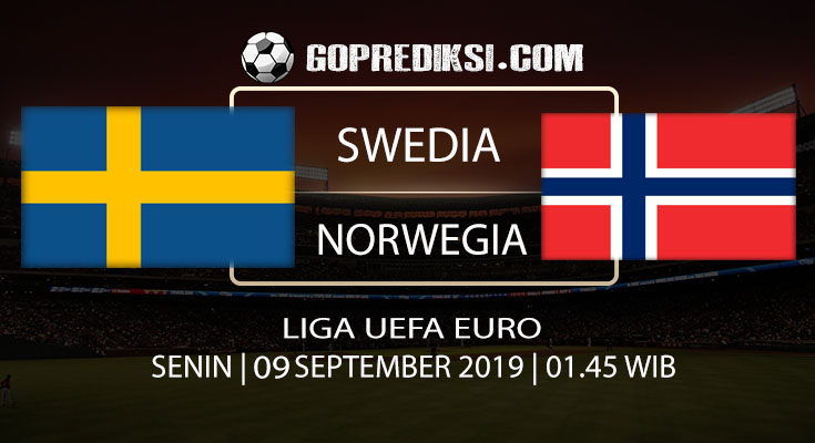 PREDIKSI BOLA - Pada tanggal 09 September 2019 nanti akan ada pertandingan antara SWEDIA Vs NORWEGIA Yang Di Gelar di Stadion Friends Arena