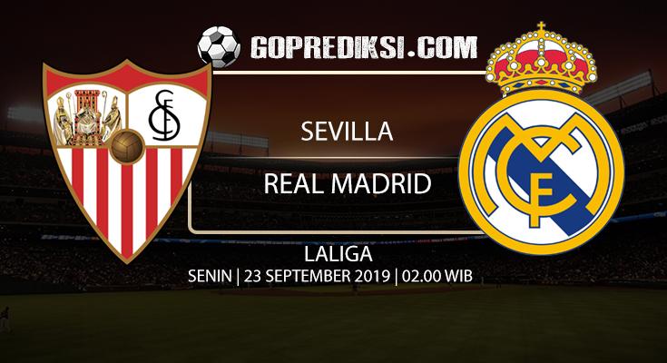 PREDIKSI BOLA - Pada tanggal 23 September 2019 nanti akan ada pertandingan antara SEVILLA Vs REAL MADRID Yang Di Gelar di Stadion Sanchez pizjuan