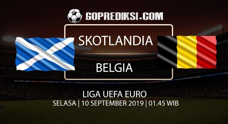 PREDIKSI BOLA - Pada tanggal 10 September 2019 nanti akan ada pertandingan antara SKOTLANDIA Vs BELGIA Yang Di Gelar di Stadion Hampden Park.