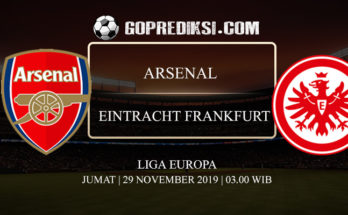 PREDIKSI BOLA ARSENAL VS EINTRACHT FRANKFURT 29 NOVEMBER 2019