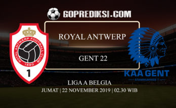PREDIKSI BOLA ROYAL ANTWERP VS GENT 22 NOVEMBER 2019