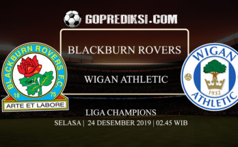 PREDIKSI BOLA BLACKBURN ROVERS VS WIGAN ATHLETIC 24 DESEMBER 2019