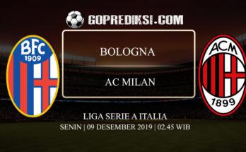 PREDIKSI BOLA BOLOGNA VS AC MILAN 09 DESEMBER 2019
