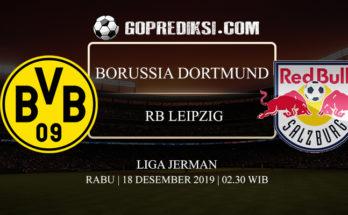 PREDIKSI BOLA BORUSSIA DORTMUND VS RB LEIPZIG 18 DESEMBER 2019