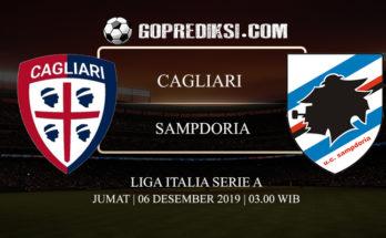PREDIKSI BOLA CAGLIARI VS SAMPDORIA 06 DESEMBER 2019