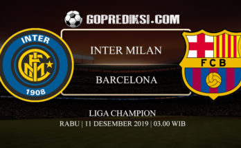 PREDIKSI BOLA INTER MILAN VS BARCELONA 11 DESEMBER 2019