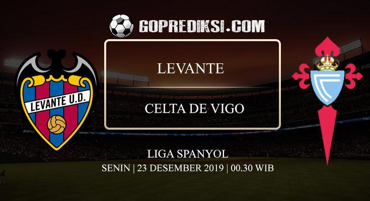 PREDIKSI BOLA LEVANTE VS CELTA DE VIGO 23 DESEMBER 2019