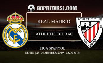 PREDIKSI BOLA REAL MADRID VS ATHLETIC BILBAO 23 DESEMBER 2019