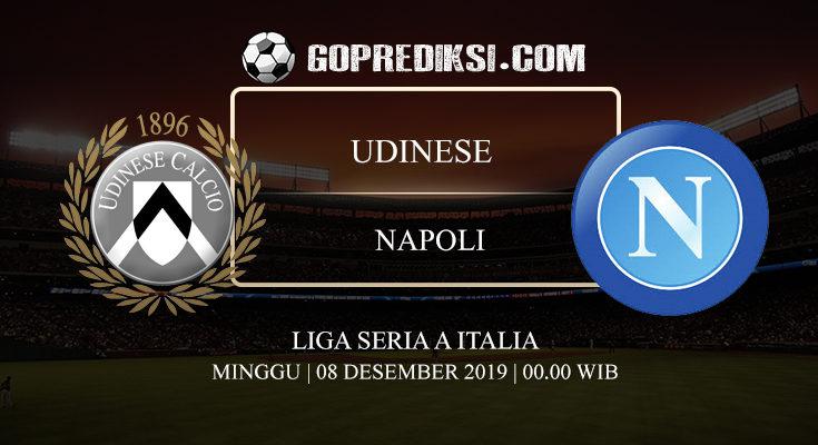 PREDIKSI BOLA UDINESE VS NAPOLI 08 DESEMBER 2019