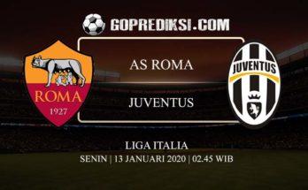 PREDIKSI BOLA AS ROMA VS JUVENTUS 13 JANUARI 2020