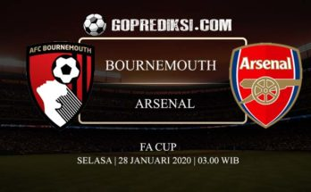 PREDIKSI BOLA BOURNEMOUTH VS ARSENAL 28 JANUARI 2020