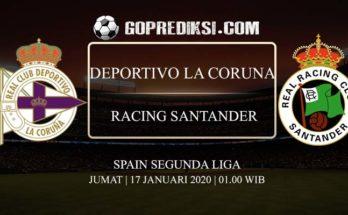 PREDIKSI BOLA DEPORTIVO LA CORUNA VS RACING SANTANDER 17 JANUARI 2020