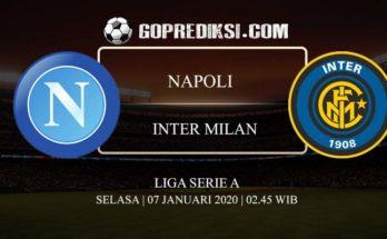 PREDIKSI BOLA NAPOLI VS INTER MILAN 07 JANUARI 2020