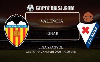 PREDIKSI BOLA VALENCIA VS EIBAR 04 JANUARI 2020