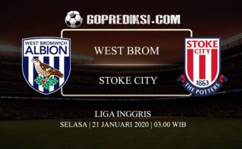 PREDIKSI BOLA WEST BROMWICH ALBION VS STOKE CITY 21 JANUARI 2020