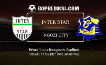 PREDIKSI BOLA INTER STAR VS NGOZI CITY 27 MARET 2020