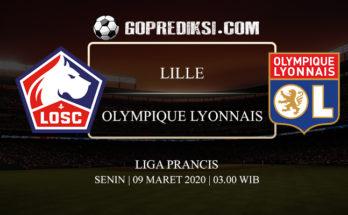 PREDIKSI BOLA LILLE VS OLYMPIQUE LYONNAIS 09 MARET 2020
