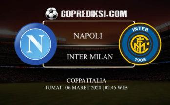 PREDIKSI BOLA NAPOLI VS INTER MILAN 06 MARET 2020