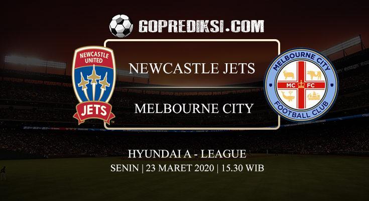 PREDIKSI BOLA NEWCASTLE JETS VS MELBOURNE CITY 23 MARET 2020