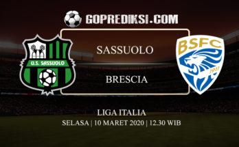 PREDIKSI BOLA SASSUOLO VS BRESCIA 10 MARET 2020