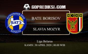 PREDIKSI BOLA BATE BORISOV VS SLAVIA MOZYR 30 APRIL 2020 1