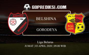 PREDIKSI BOLA BELSHINA VS GORODEYA 03 APRIL 2020