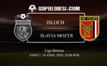 PREDIKSI BOLA ISLOCH VS SLAVIA MOZYR 18 APRIL 2020