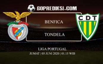 PREDIKSI BOLA BENFICA VS TONDELA 05 JUNI 2020