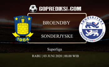 PREDIKSI BOLA BROENDBY VS SONDERJYSKE 03 JUNI 2020 1