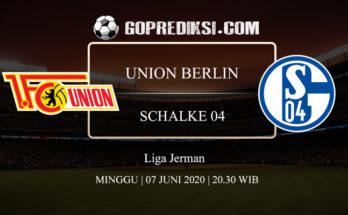 PREDIKSI BOLA UNION BERLIN VS SCHALKE 04 07 JUNI 2020 1