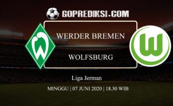 PREDIKSI BOLA WERDER BREMEN VS WOLFSBURG 07 JUNI 2020 1